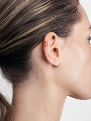 Ana Luisa Earrings Ear Cuff Earrings Single Ear Cuff Ellie Gold