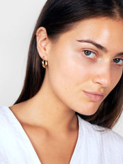 Endless Gold Hoop Earrings - Venus