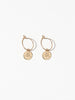 Ana Luisa Earrings Hoop Earrings Zodiac Jewelry Gemini Hoop Earrings Gold