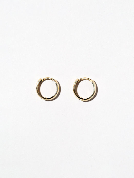 Ana Luisa Earrings Hoops Earrings 14K Gold Hoop Earrings  Thick Hoops