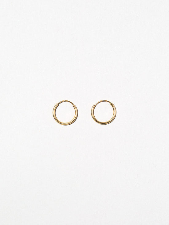 Ana Luisa Earrings Solid Gold Earrings Mini 14k Gold