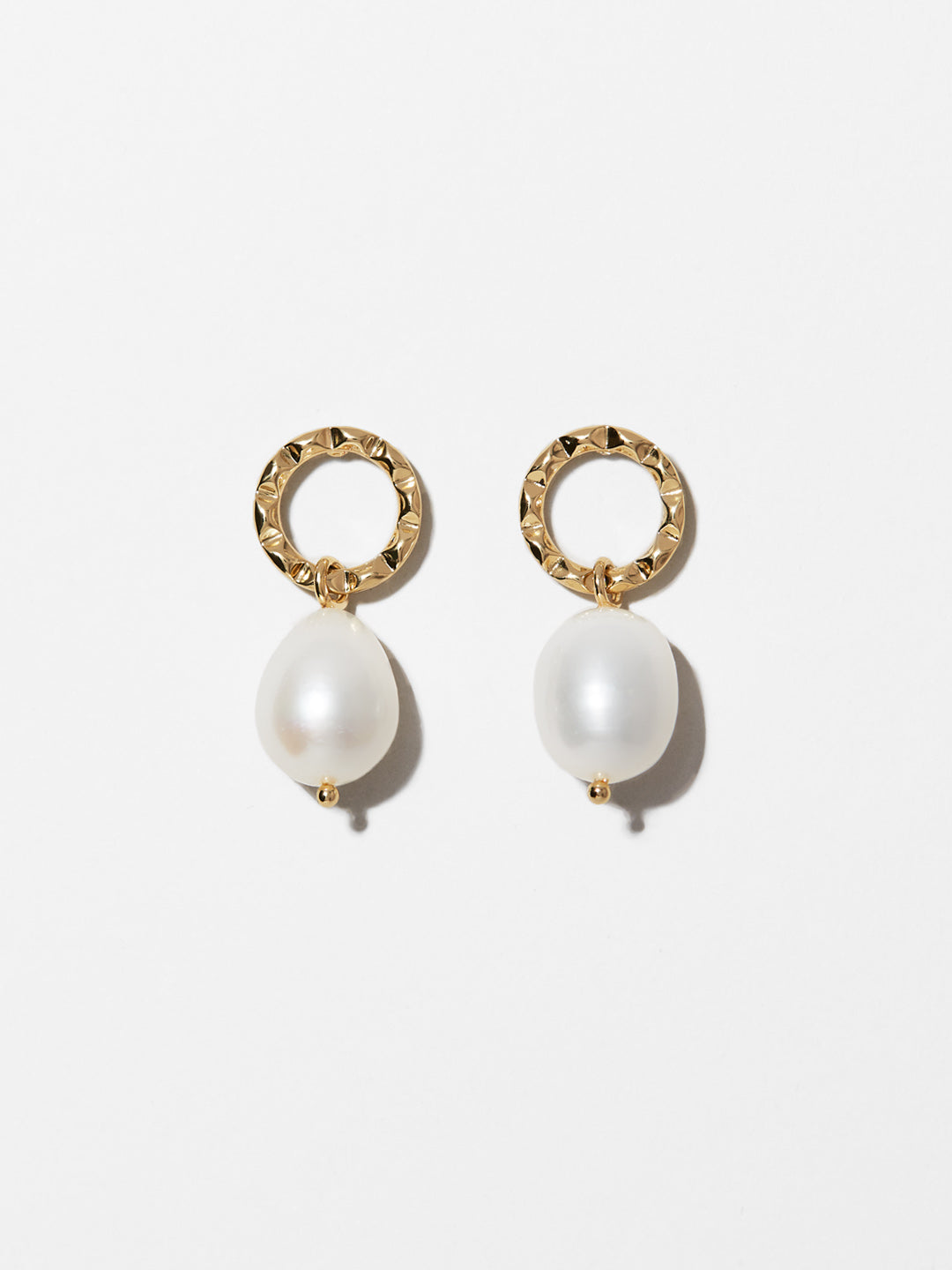 Ana Luisa Earrings Studs Delicate Earrings Hope Pearl Gold