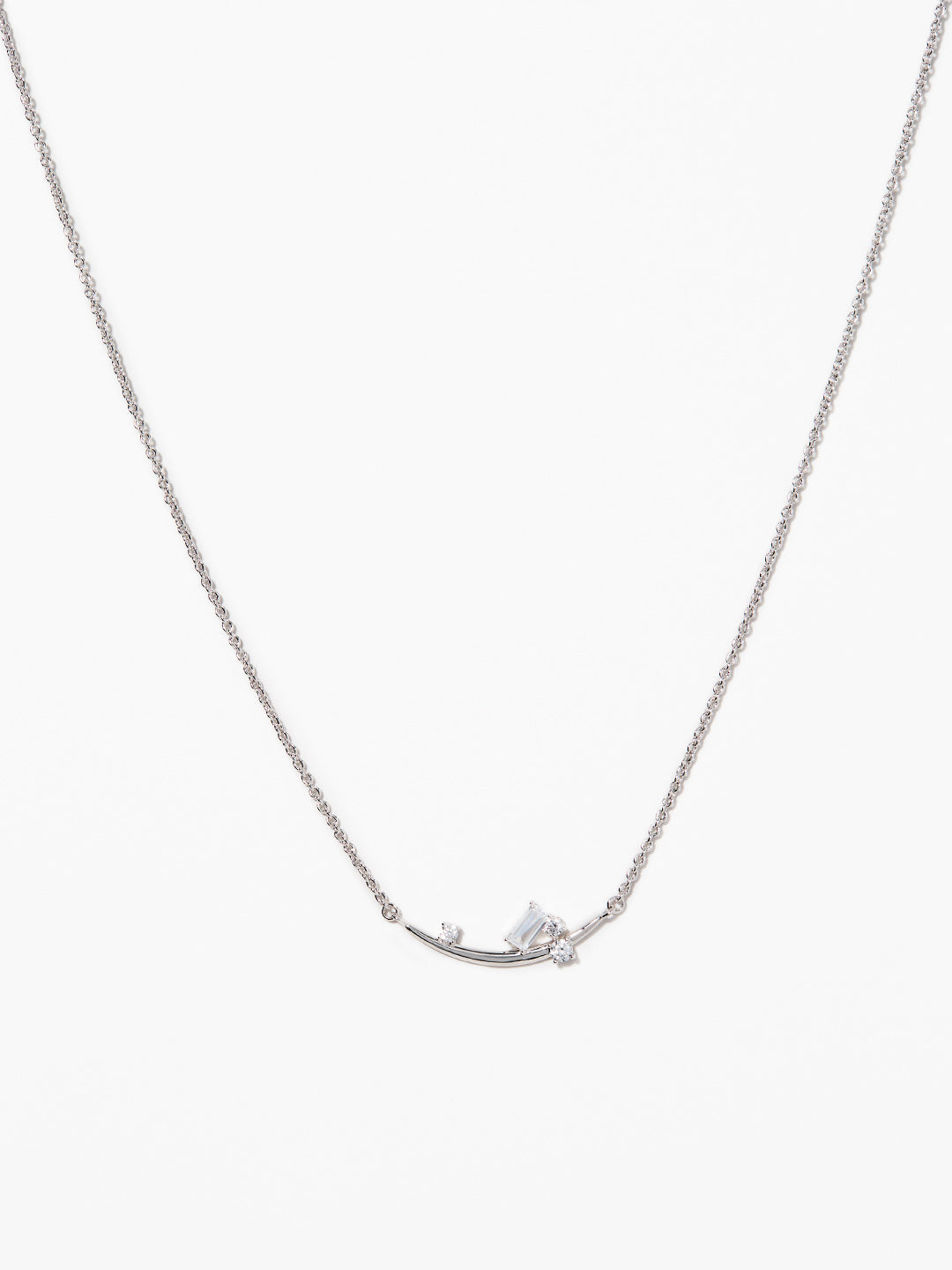 Ana Luisa Jewelry Co-Creation Necklaces Pendant Necklace Silver Mountain Necklace Hrafna Silver