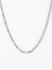 Ana Luisa Jewelry Co Creation Jusuf Curb Chain Necklace Jusuf Silver