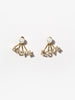 Ana Luisa Jewelry Collaboration Niki Sky Earrings Gold Jacket Earrings Love