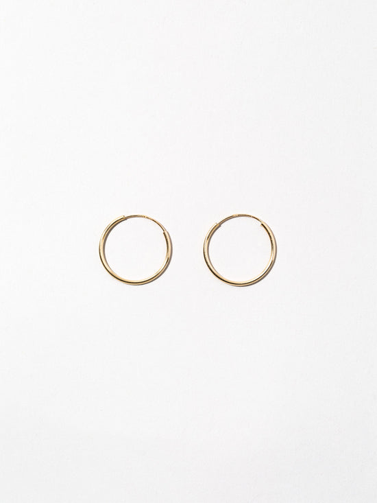 Ana Luisa  Jewelry Earrings Hoop Earrings 14K Gold Hoop Earrings Small Hoops