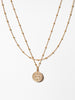 Ana Luisa Layered Necklaces Layered Necklace Coin Necklace Set  Willow Gold