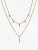 Ana Luisa Jewelry Necklaces Layered Necklace Set Blair Gold