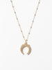 Ana Luisa Jewelry Necklaces Pendant Necklace Gold Horn Necklace Brooke