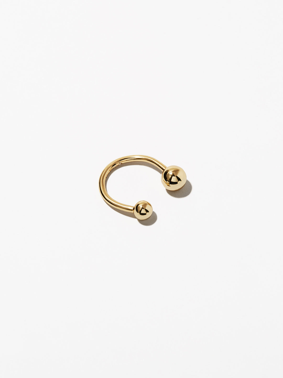 Ana Luisa Jewelry Rings Duo Ball Ring Laurel Gold