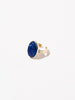 Ana Luisa Jewelry Rings Gemstone Ring Oval Stone Ring Mara Lapis Lazuli Gold