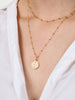 Ana Luisa Necklace Layered Necklaces Eye Coin Necklace Set Bea Gold