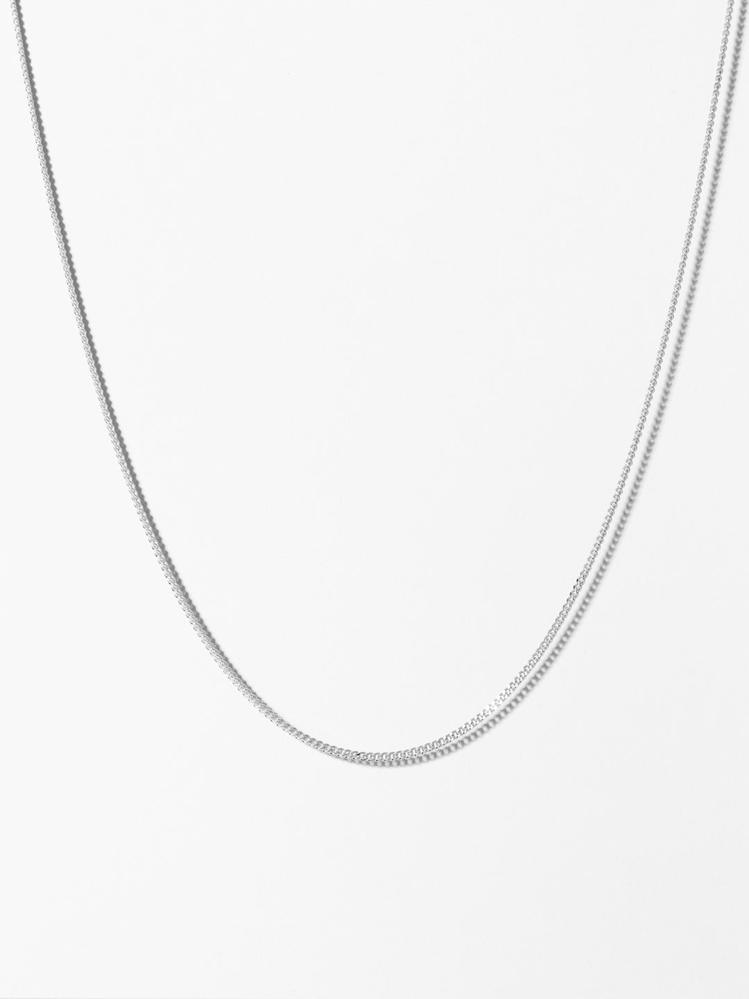 Ana Luisa Necklaces Chain Necklace Curb Chain Necklace Chuck Silver