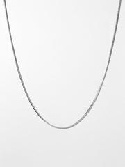 Ana Luisa Necklaces Chain Necklaces Silver Box Chain Necklace Jo Silver