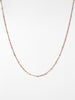 Ana Luisa Necklaces Layered Necklaces Small Ball Chain Necklace Rose Gold