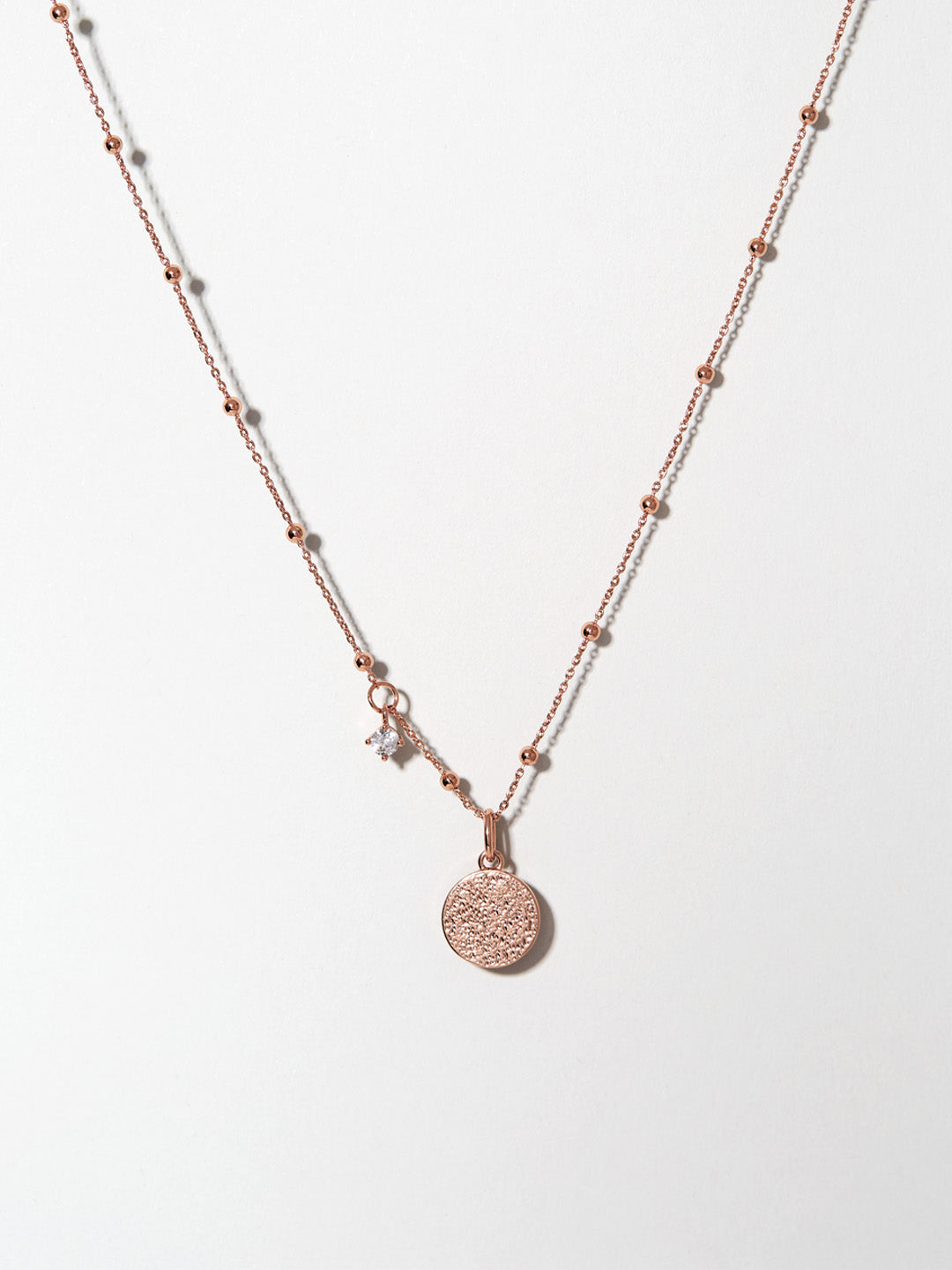 Ana Luisa Necklaces Pendant Necklace Arabic Coin Necklace Sophie Rose Gold