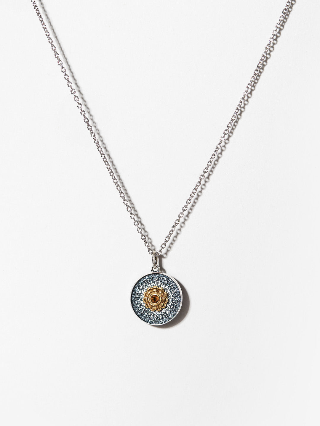 Ana Luisa Necklaces Pendant Necklace Birthstone Necklace Citrine November Silver