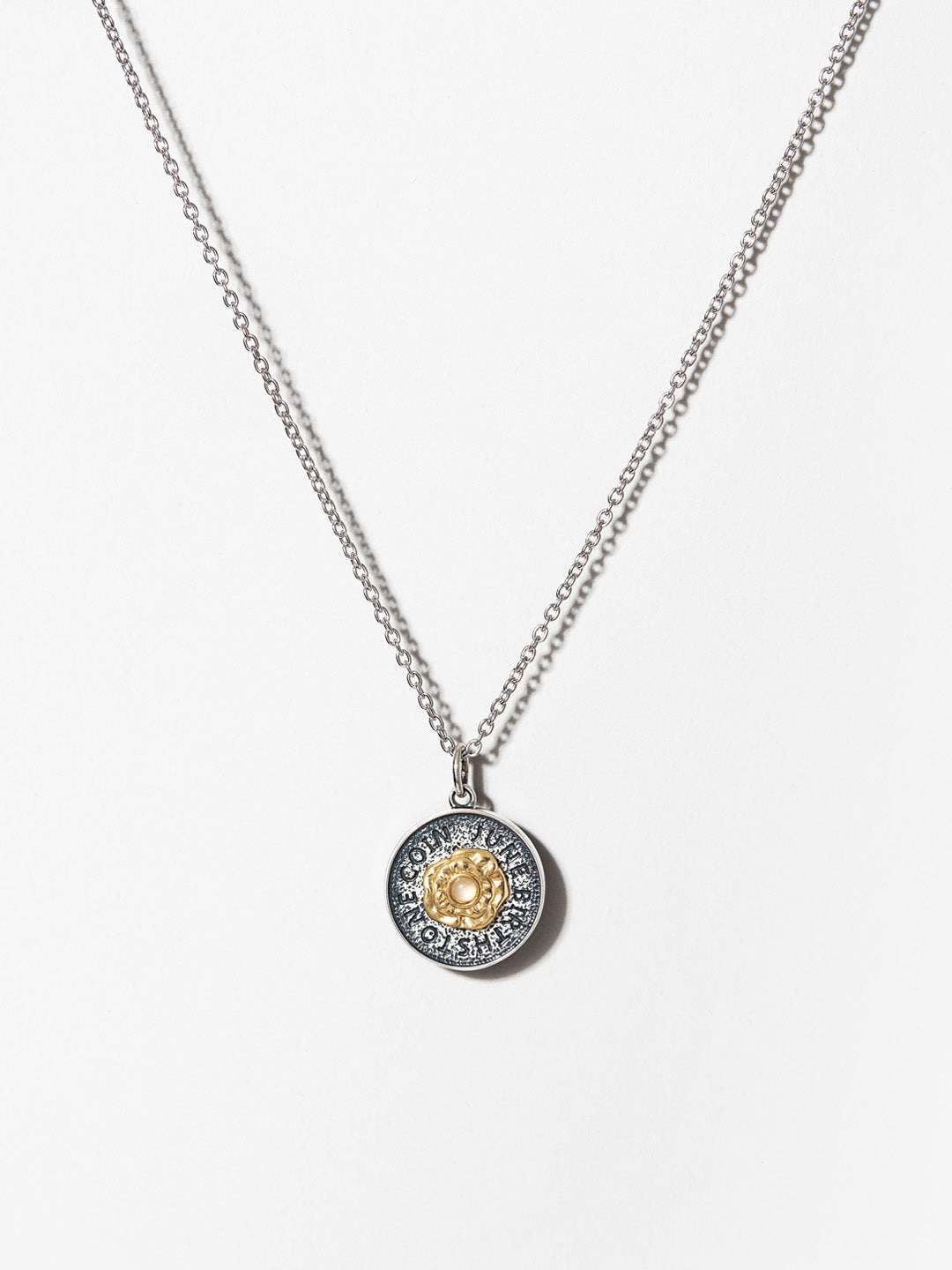 Ana Luisa Necklaces Pendant Necklace Birthstone Necklace Moonstone June Silver