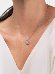 Ana Luisa Necklaces Pendant Necklace Birthstone Necklace Opal October Silver