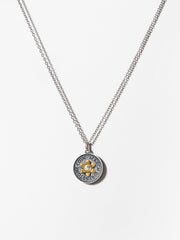 Ana Luisa Necklaces Pendant Necklaces Birthstone Necklace Aquamarine March Silver