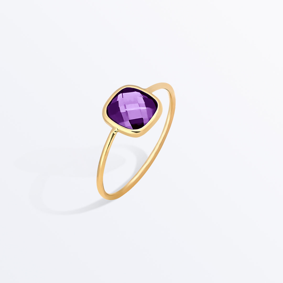 Ana Luisa Rings Gemstone Rings Stone Ring Palace Amethyst Purple.
