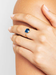 Stone Ring - Palace Deep Blue