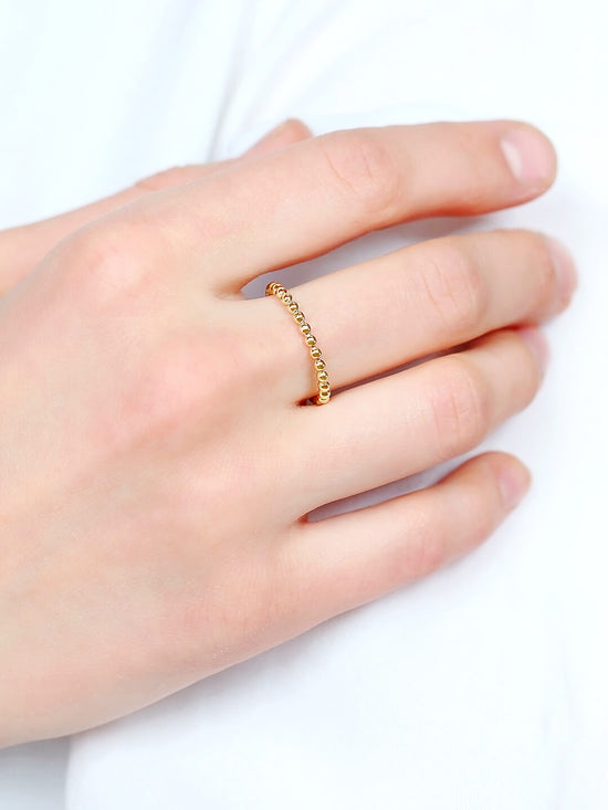 Stackable Ring - Olivia Gold