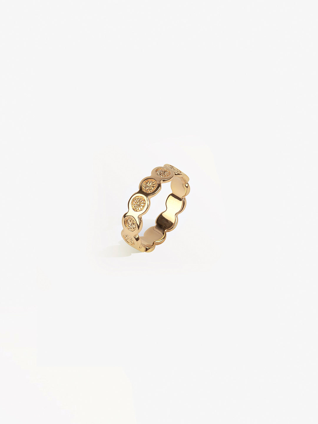 Ana Luisa Rings Stacking Rings Stackable Sun Ring Sol Gold