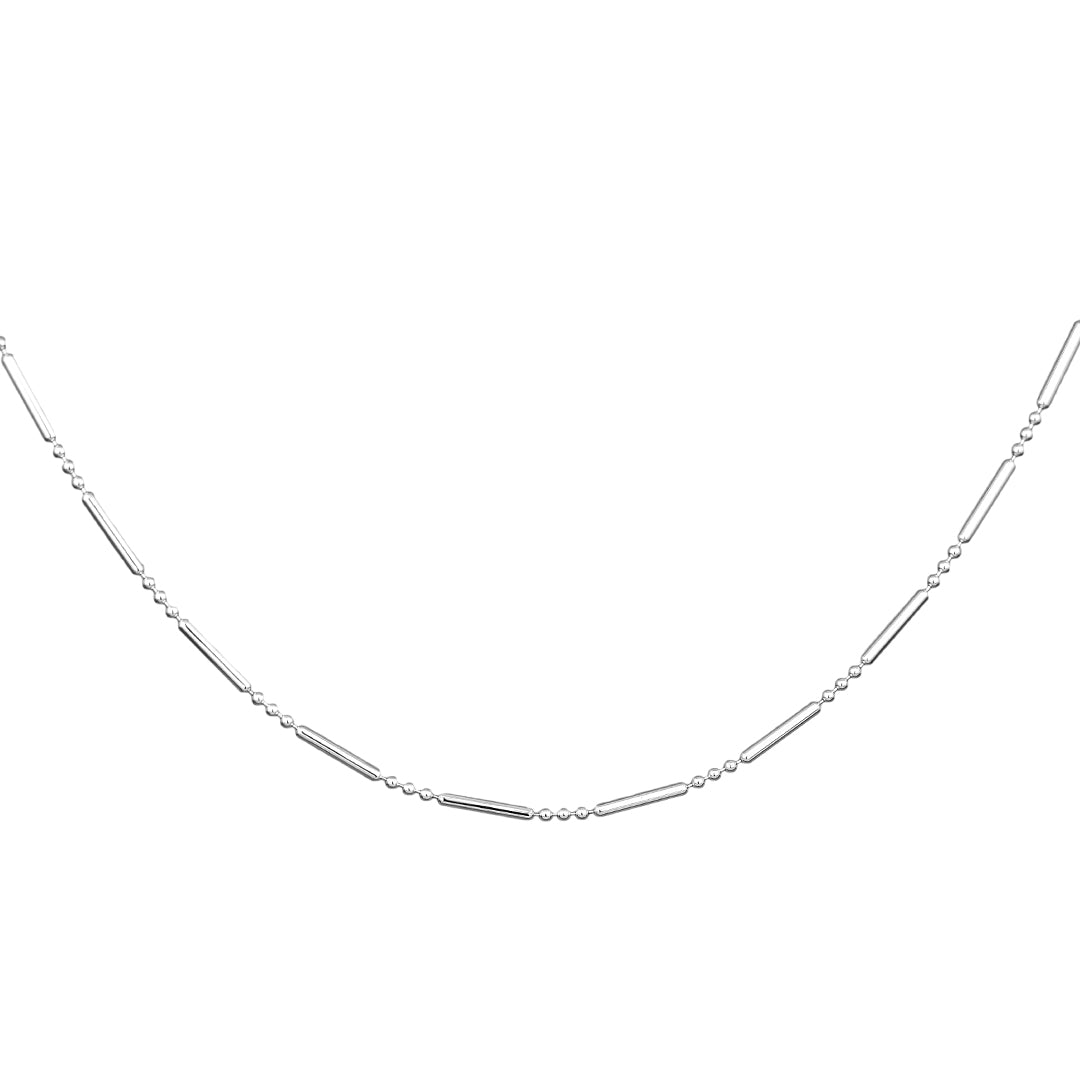 Ana Luisa Chain Necklaces Silver Chain Necklace Geo