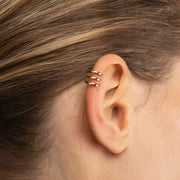 Single Ear Cuff - Ellie Gold