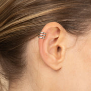Ana Luisa Earrings Ear Cuff Earrings Single Ear Cuff Ellie Silver