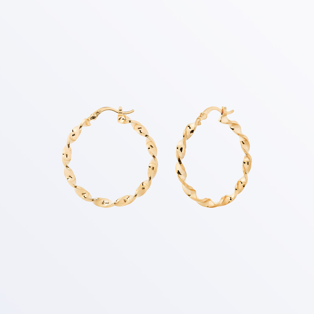 Ana Luisa Earrings Hoop Earrings Antoinette Gold