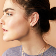Ana Luisa Earrings Hoop Earrings Delicate Mini Chiara Gold