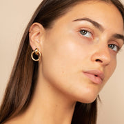 Ana Luisa Earrings Hoop Earrings Door Knocker Earrings Isa