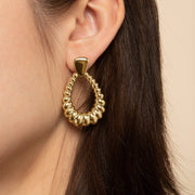 Door Knocker Earrings - Nikki