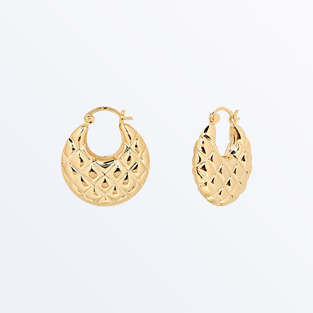 Ana Luisa Earrings Hoop Earrings Large Gold Hoop Earrings Beatriz