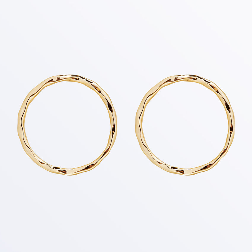 Ana Luisa Earrings Hoop Earrings Mona Gold