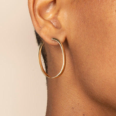 Ana Luisa Earrings  Hoop Earrings Paloma Gold