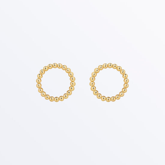 Ana Luisa Earrings Hoop Earrings Small Circle Earrings Kirin Gold