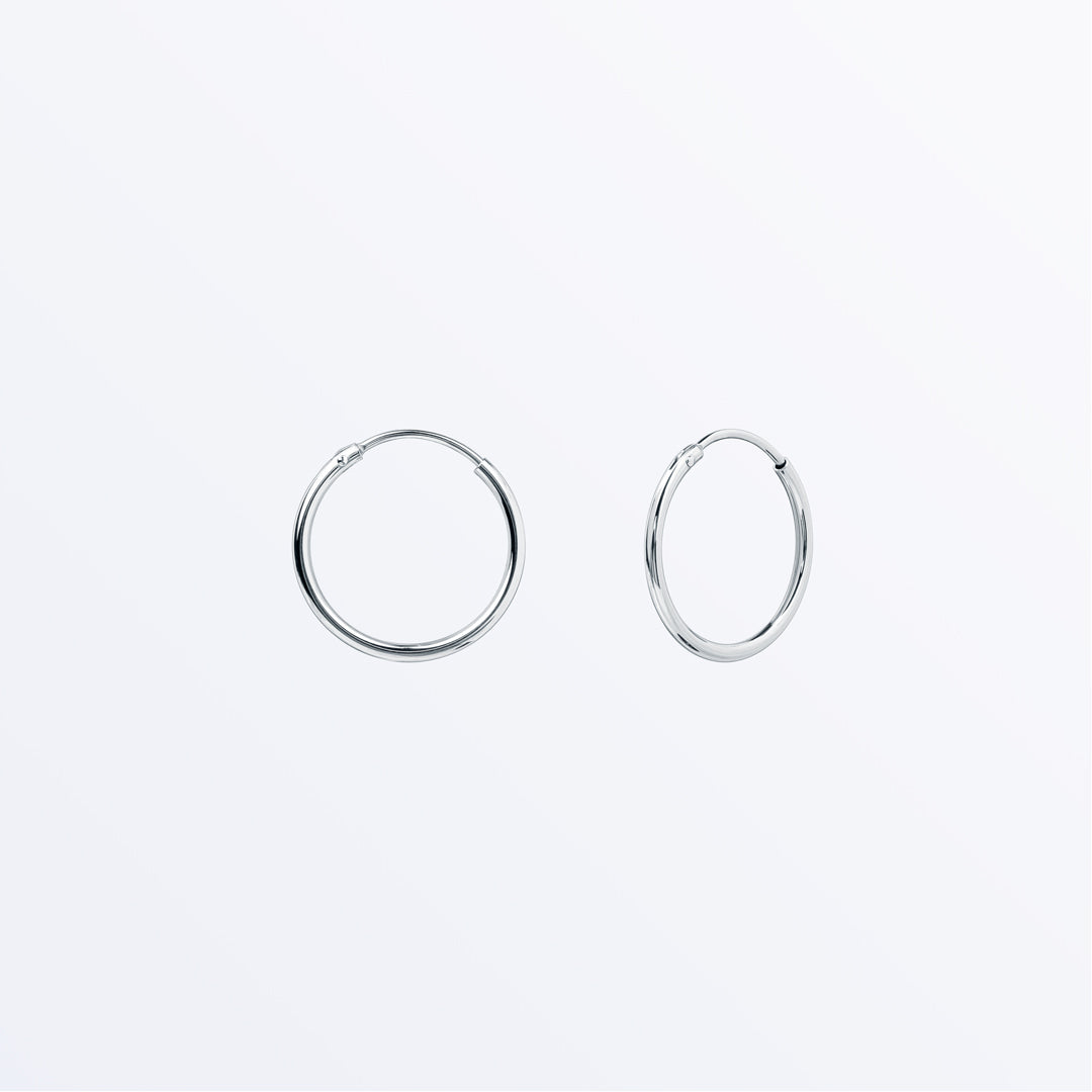 Ana Luisa Earrings Hoop Earrings Sterling Silver Hoop Earrings Medium Jess