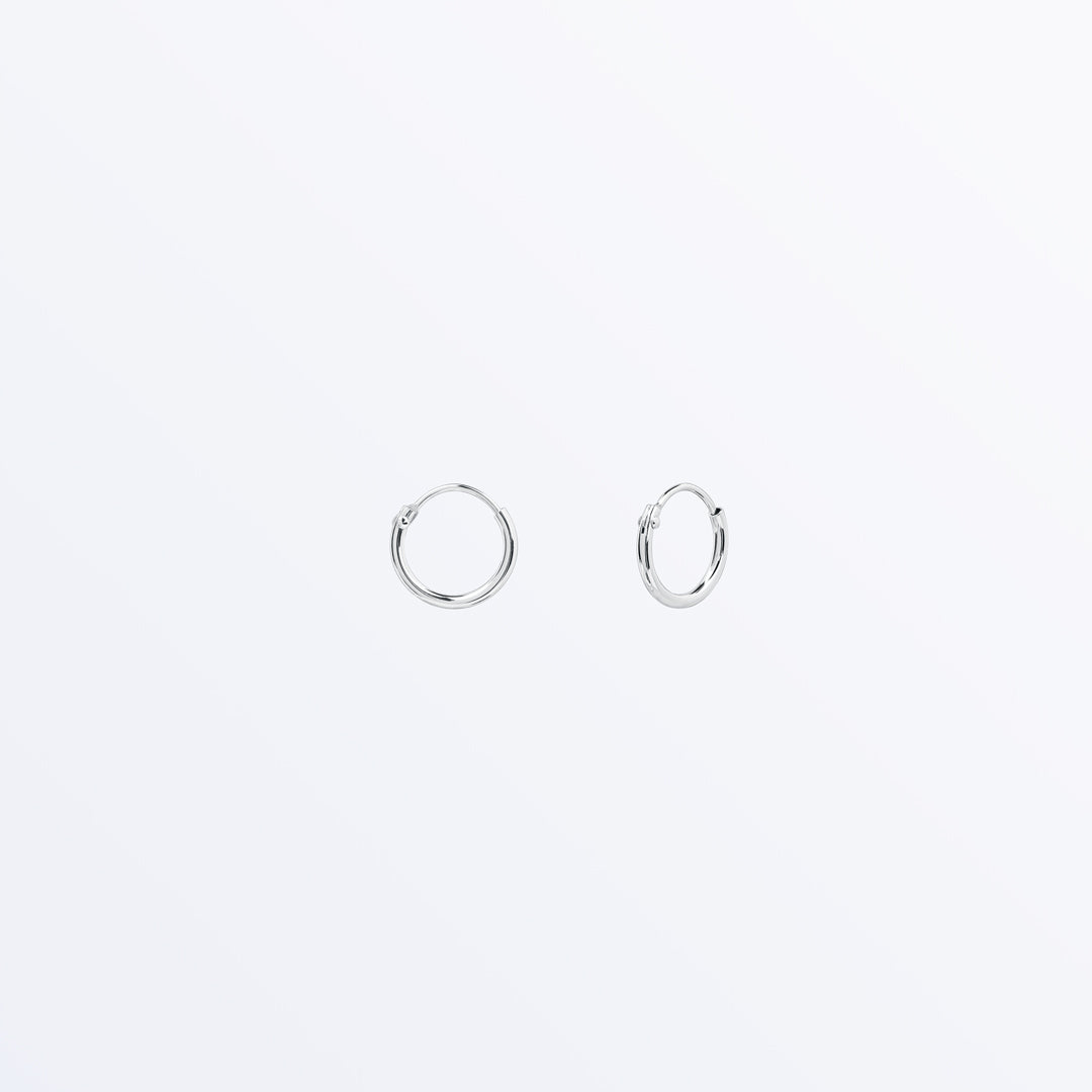 Ana Luisa Earrings Hoop Earrings Sterling Silver Hoop Earrings Mini Jess
