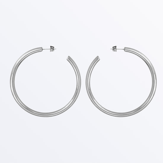 Ana Luisa Earrings Hoop Earrings Tia Large Silver