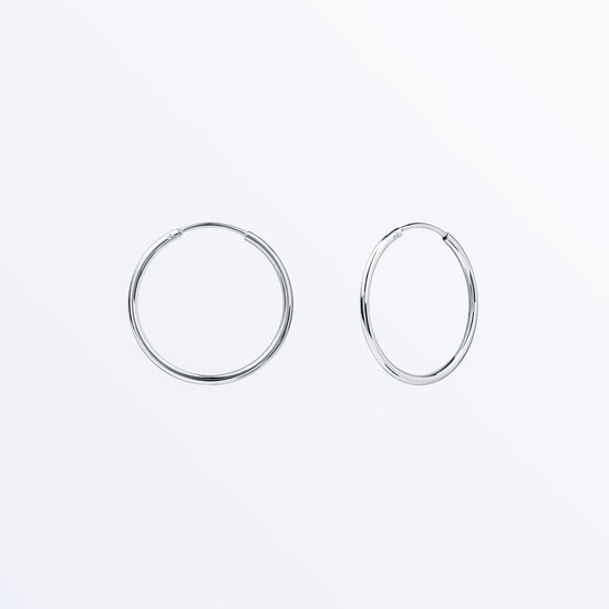 Ana Luisa Earrings Hoops Earrings Sterling Silver Hoop Earrings Large Jess