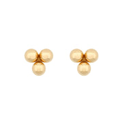 Ana Luisa Earrings Solid Gold Earrings 14K Gold Stud Earrings Lou