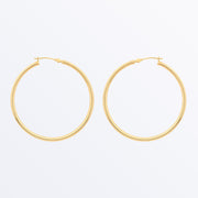 Ana Luisa Earrings Solid Gold Earrings 14k Gold Hoop Earrings XXL Hoops