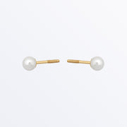 Ana Luisa Earrings Solid Gold Pearls Earrings 14K Gold Pearl Studs.