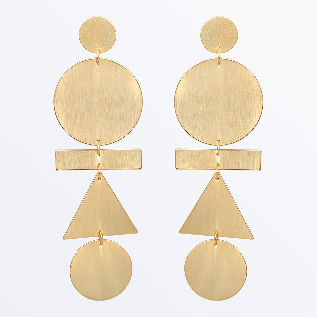 Ana Luisa Earrings Statement Earrings Eva Mobile Gold