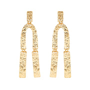 Ana Luisa Earrings Statement Earrings Kiki Drop Gold