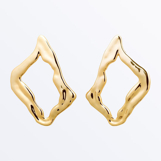Ana Luisa Earrings Statement Earrings Lily Gold