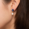 Pearl Drop Earrings - Azul